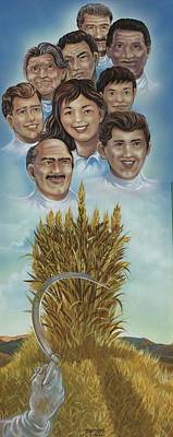 El Trigo Y La Cizana Poster by Joe Santana