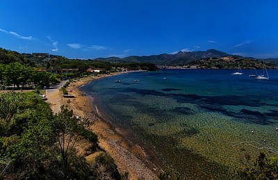 Poster featuring the photograph Elba Island - On The Beach 1 - Ph Enrico Pelos by Enrico Pelos