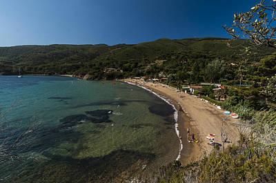 Poster featuring the photograph Elba Island - On The Beach 2 - Ph Enrico Pelos by Enrico Pelos