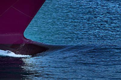 Poster featuring the photograph Elba Island - Purple Wave - Ph Enrico Pelos by Enrico Pelos