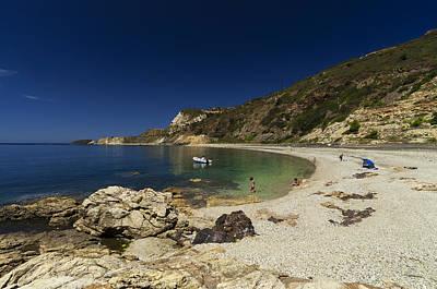 Elba Island - Solitary Beach - Spiaggia Solitaria - Ph Enrico Pelos Poster