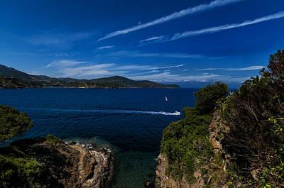 Poster featuring the photograph Elba Island - Blue And Green 1 - Blu E Verde 1 - Ph Enrico Pelos by Enrico Pelos