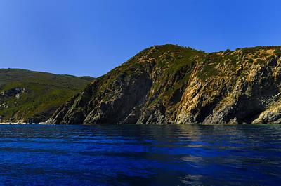Poster featuring the photograph Elba Island - Blue And Green 2 - Blu E Verde 2 - Ph Enrico Pelos by Enrico Pelos