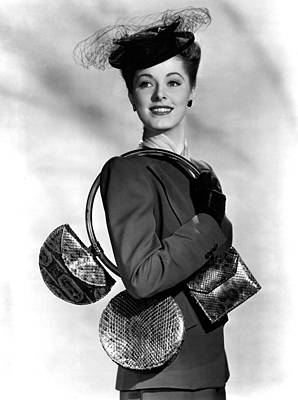 Eleanor Parker Carrying 3 Small Poster by Everett
