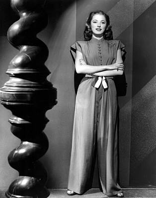 Eleanor Parker, Wearing A One-piece Poster