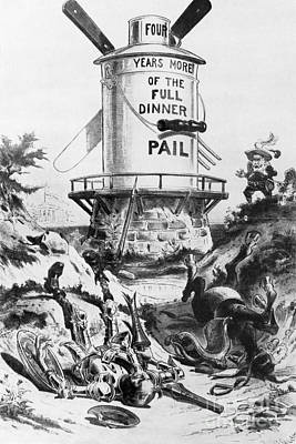 Election Cartoon, 1900 Poster by Granger