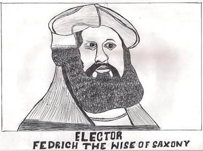 Elector Fedrich The Wise Of Saxony Poster by Ademola kareem oshodi