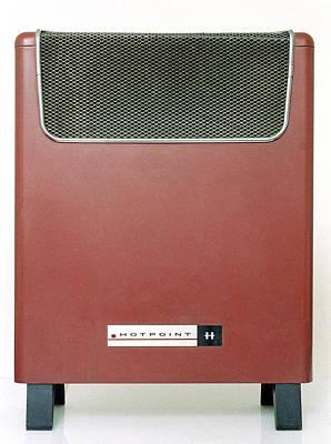 Electric Heater Poster by Victor De Schwanberg