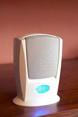 Electronic Doorbell Speaker Poster by Mark Sykes
