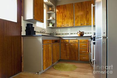 Elegant Kitchen Interior Poster