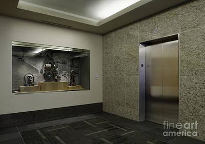 Elevator Poster by Robert Pisano