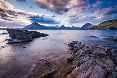 Elgol Sunset Poster