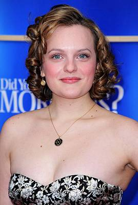 Elisabeth Moss At Arrivals For Did You Poster by Everett