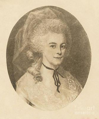 Elizabeth Hamilton Poster by Photo Researchers