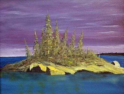 Elk Island Alberta Poster
