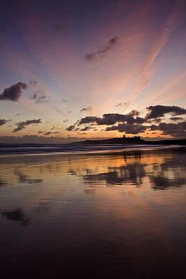 Embleton Bay Sunrise Poster by David Pringle