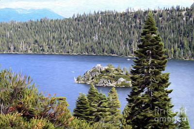 Poster featuring the photograph Emerald Bay State Park by Anne Raczkowski