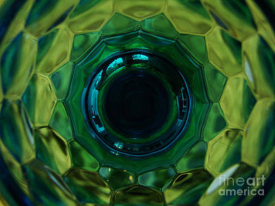 Emerald Eye Poster by Mark Holbrook