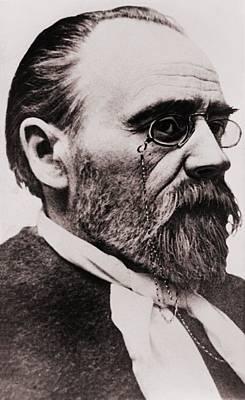 Emile Zola 1840-1902, French Novelist Poster