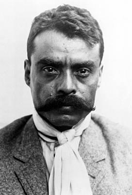 Emiliano Zapata In 1914 Poster