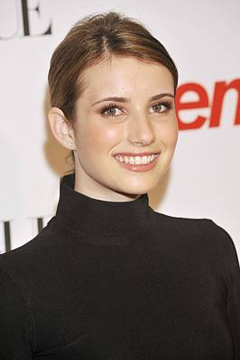 Emma Roberts At Arrivals For 6th Annual Poster by Everett