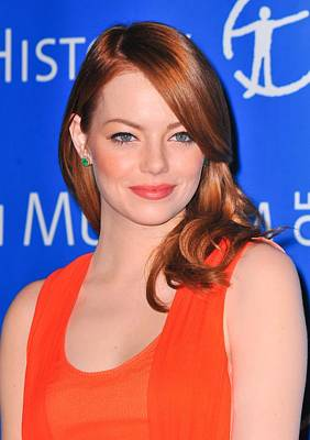 Emma Stone At Arrivals For American Poster by Everett