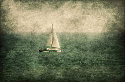 Empty Yacht  Poster by Svetlana Sewell