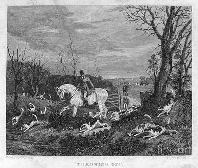 England: Fox Hunt, 1833 Poster