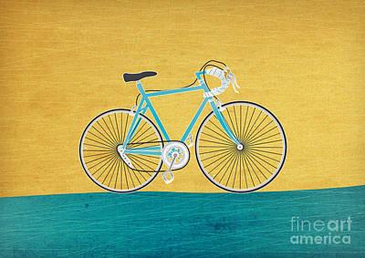 Enjoy The Ride Poster by Linda Tieu