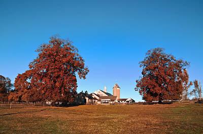Erdenheim Farm In Autumn Poster by Bill Cannon