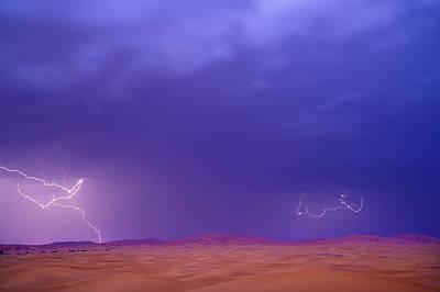 Erg Chebbi, Ziz Valley, Sahara Desert, Morocco Poster by Ben Pipe Photography