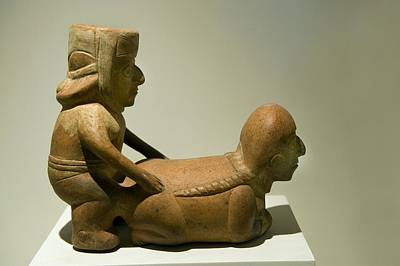 Erotic Sculpture, Moche Epoch Poster by Tony Camacho