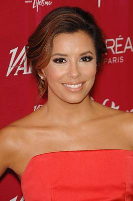 Eva Longoria At Arrivals For Varietys Poster by Everett