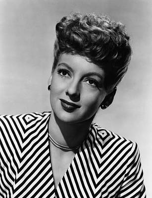 Evelyn Keyes, Ca. Late 1940s Poster