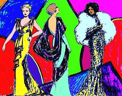 Evening Dresses Poster