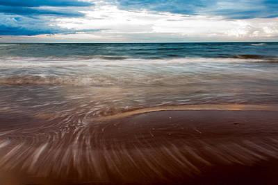Evening Tide Poster by Matt Dobson