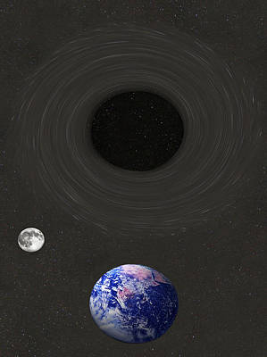 Event Horizon Poster by Eric Kempson