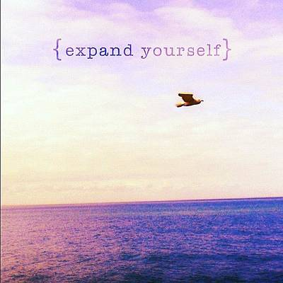 Expand Yourself. By Fernanda Fontenelle Poster