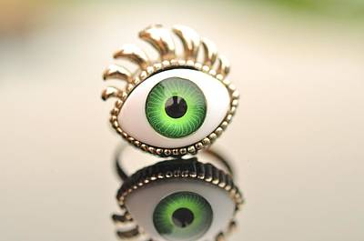 Eye Ring  Poster by Puzzles Shum