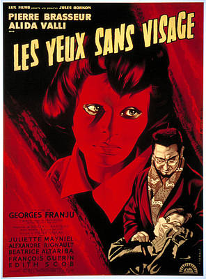 Eyes Without A Face, Aka Les Yeux Sans Poster