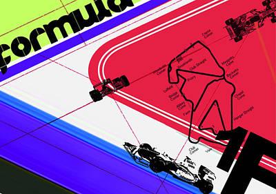 F1 Poster by Naxart Studio