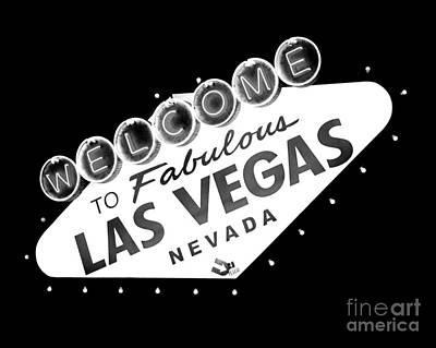 Fabulous Las Vegas Poster by Kate McKenna