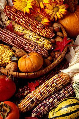 Fall Harvest Poster by Garry Gay