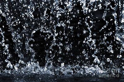 Falling Water Poster by Elena Elisseeva