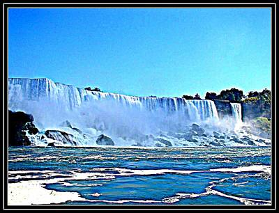 Falls -5 Poster by Anand Swaroop Manchiraju