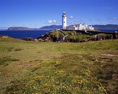 Fanad Lighthouse, Fanad Head, Co Poster