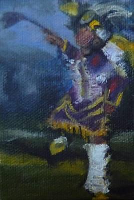 Fancy Dancer Long Beach Pow Wow Poster by Jessmyne Stephenson