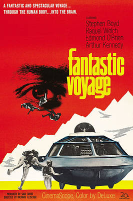 Fantastic Voyage, Poster, 1966 Poster by Everett