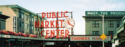 Poster featuring the photograph Farmer's Market by C Sitton
