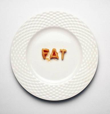 Fat Poster by Victor De Schwanberg